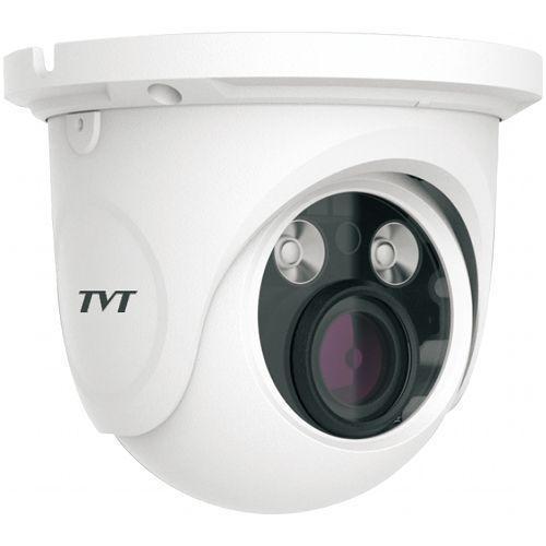 Camera IP TVT TD-9525S1(D/FZ/PE/AR2) Dome 2MP CMOS 1/2.8 inch 2.8-12mm 2 LED Array IR 30M PoE Carcasa metal