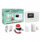Sistem de alarma wireless PNI PG200 comunicator GSM pentru 99 de zone wireless si 2 cu fir