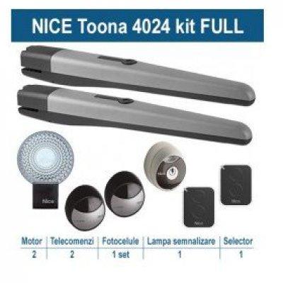 Kit Automatizare Porti Batante Nice Toona4024kce