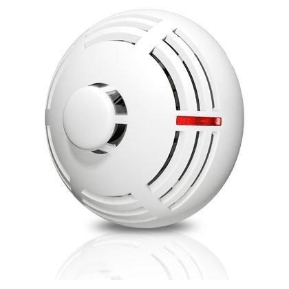 Detector conventional Satel TSD-1 Senzor de fum si temperatura cablare pe 4 fire pentru sisteme de alarma