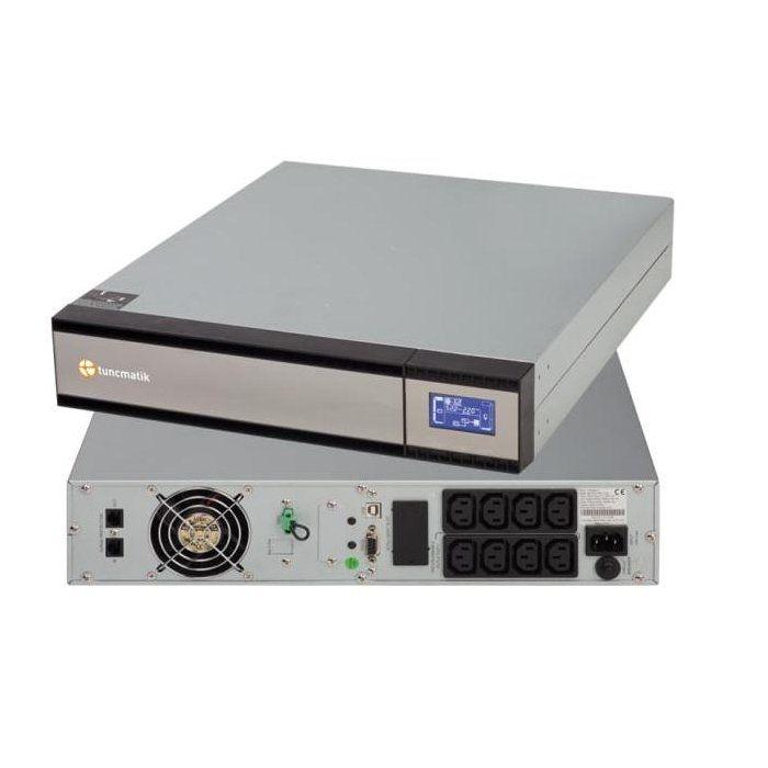 Ups Tuncmatik Newtech Pro Rack Mount Series 1kva/800w. Online - Dubla Conversie. Afisaj Lcd. 8 Prize Iec C13. Monitorizare Si Tsk1811