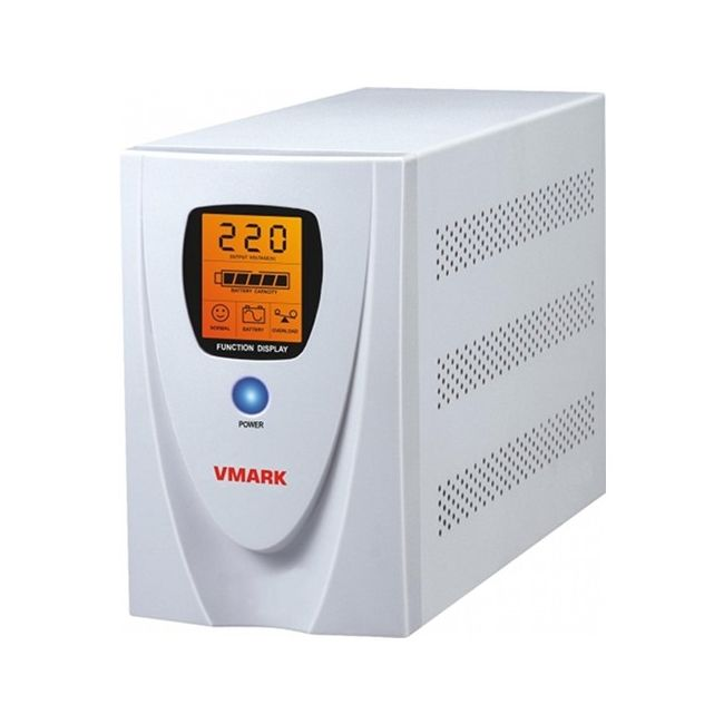Imagine indisponibila pentru UPS V-Mark UPS-1000VP 1000VA 8 min back-up (half load) LCD Display Power Management Software - Cable