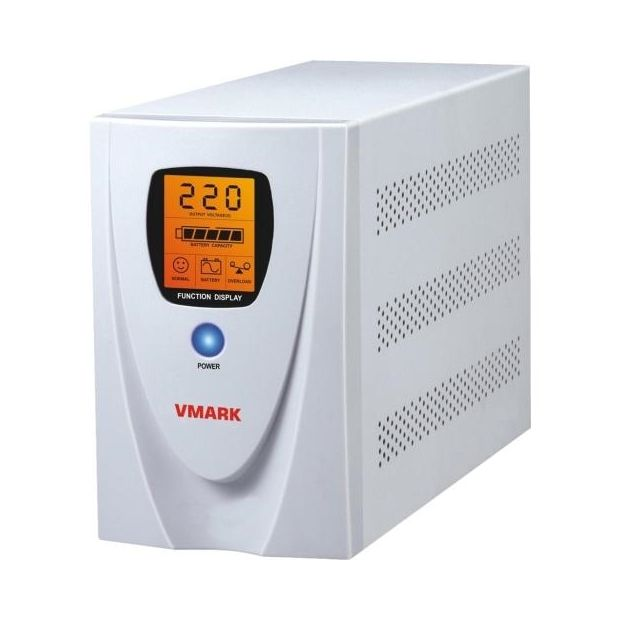 Imagine indisponibila pentru UPS V-Mark UPS-650VP 650VA 8 min back-up (half load) LCD Display