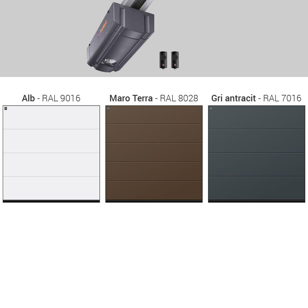 Usa De Garaj Sectionala Hormann Renomatic Sandgrain Dim1