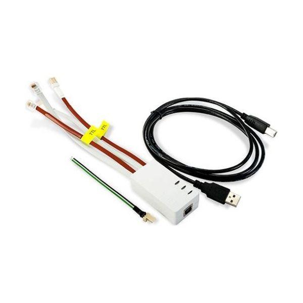 Imagine Cablu Usb-rs Pentru Programare Centrale Satel Lungime Cablu Usb 1.8m