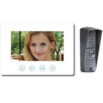 Kit videointerfon cu afisaj de 7inch si conexiune la 4 fire Well VDPK-SPOOKFISH/S-WL