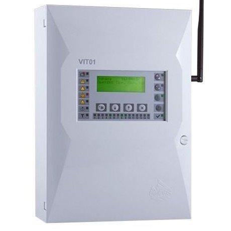 Centrala detectie si semnalizare la incendiu adresabila wireless UniPOS VIT01