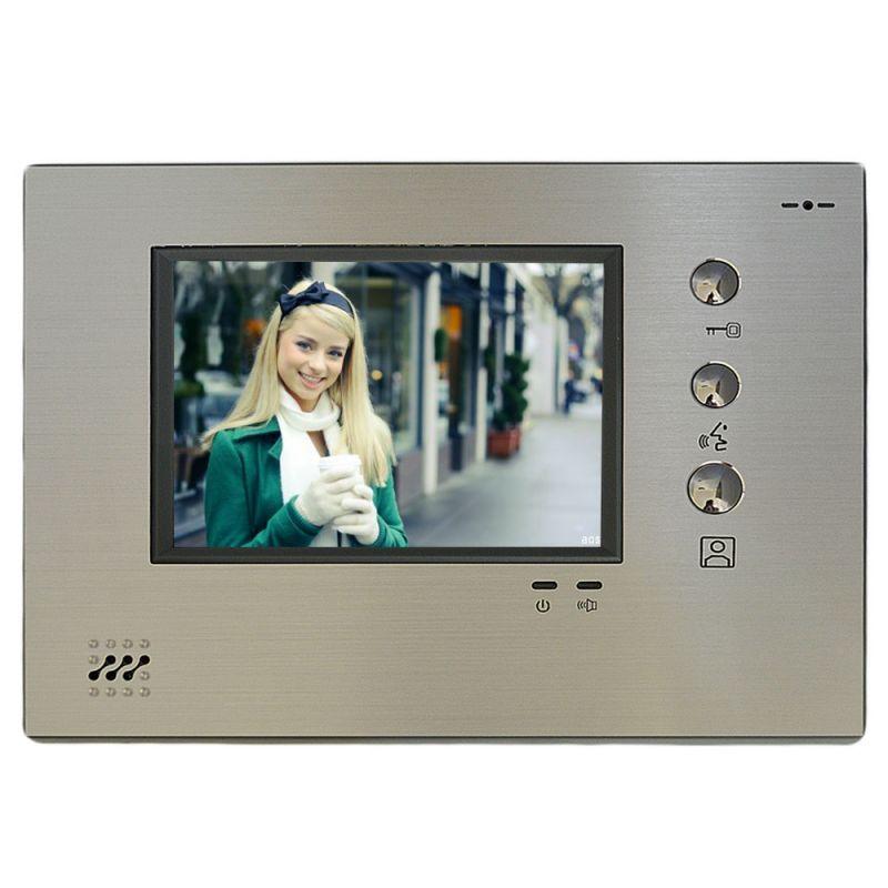 Monitor Color Apartament Vps-m8a383c. Pentru Inter