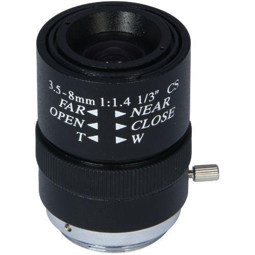 Accesoriu supraveghere PXW Lentila CCD 1/3 Inch f:3.5-8mm VS03508IF