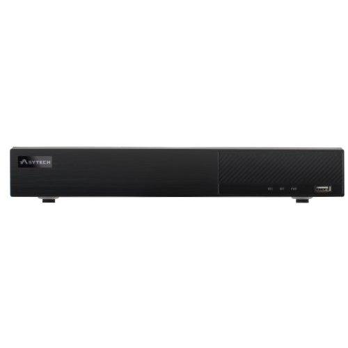 DVR 16 canale Asytech VT-2316HS Pentabrid 4MP TVI / AHD / CVI / Analog + 4 canale IP 3MP HDMI 4K 2xHDD pe interfata SATA