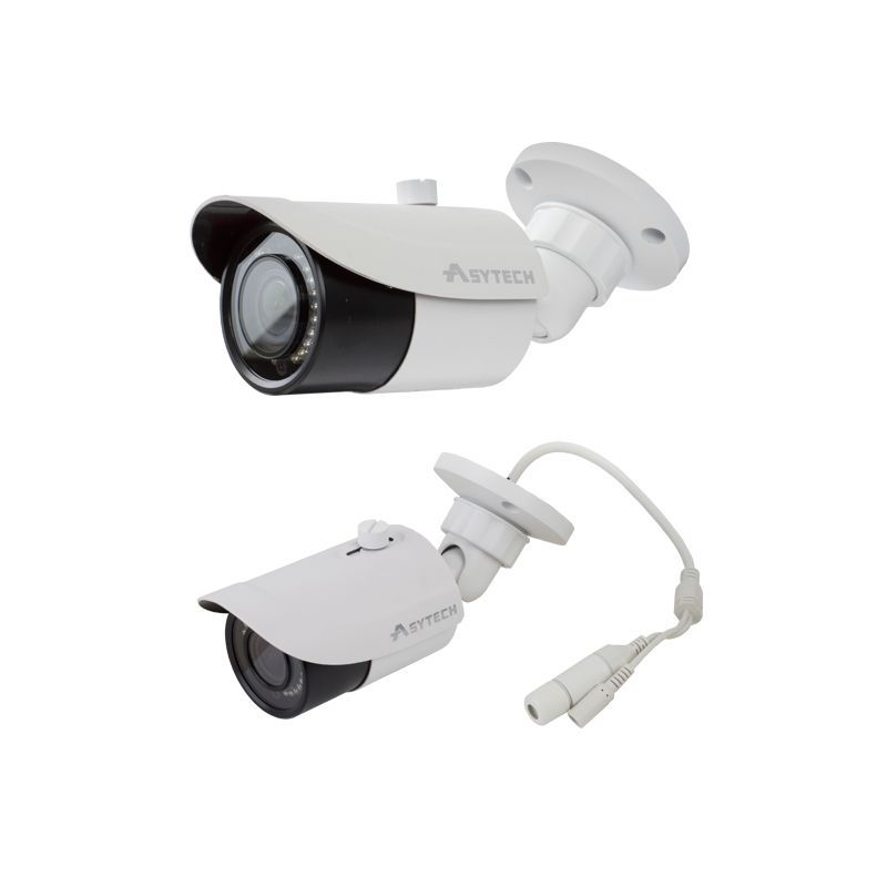Camera bullet IP 3MP Asytech VT-IP43EV-3S lentila varifocala 2.8-12mm IR 30m IP66 PoE ONVIF