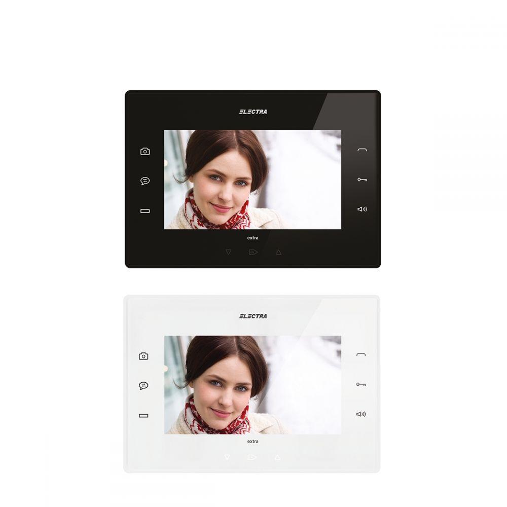 Terminal Video Extra 7 Electra Vte.7s902.elb Cu Tastatura Touch Iluminata. Hands-free. Aux