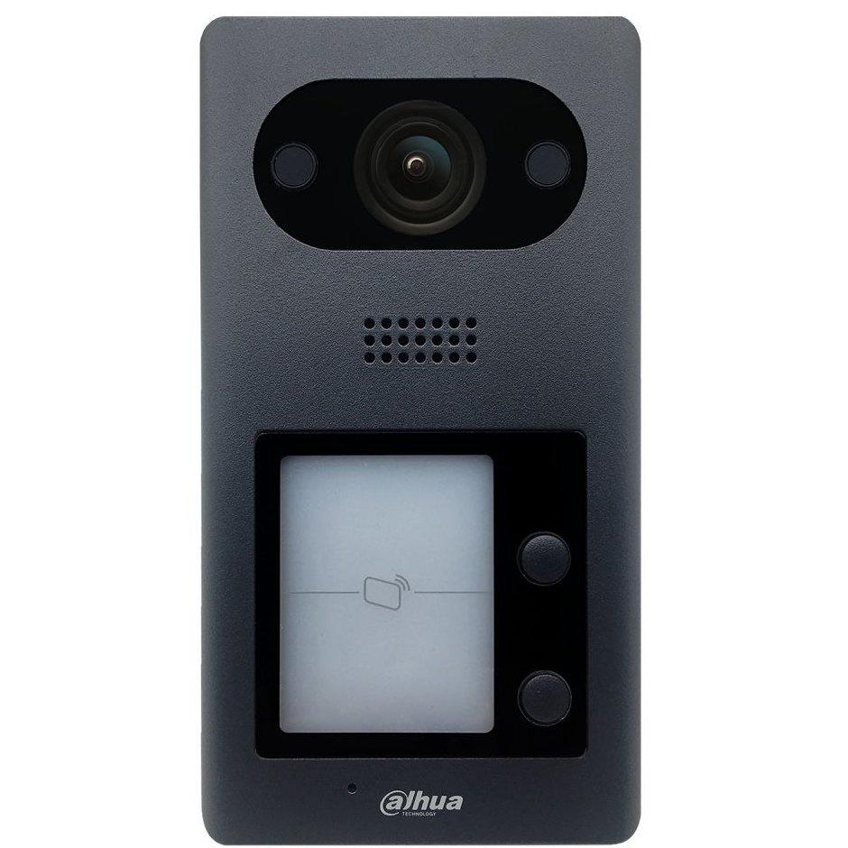 Post de exterior videointerfon IP Dahua VTO3211D-P2 cu doua butoane 2MP IP65 IK08
