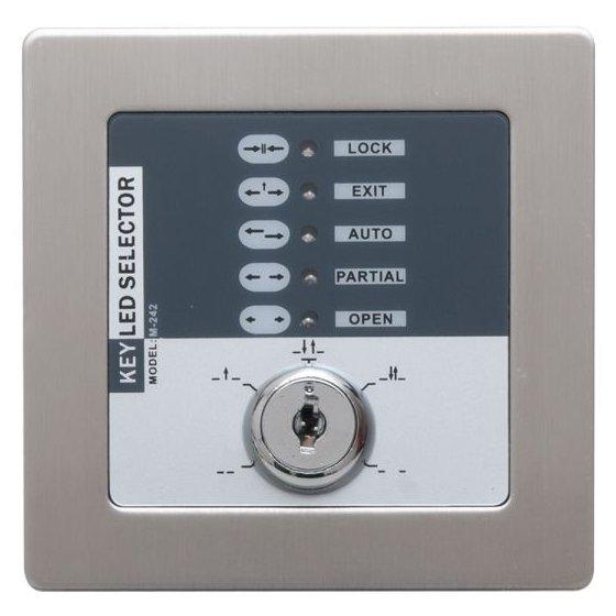 Programator cu cheie ingropat de inox VZ-KP02 5 moduri de functionare