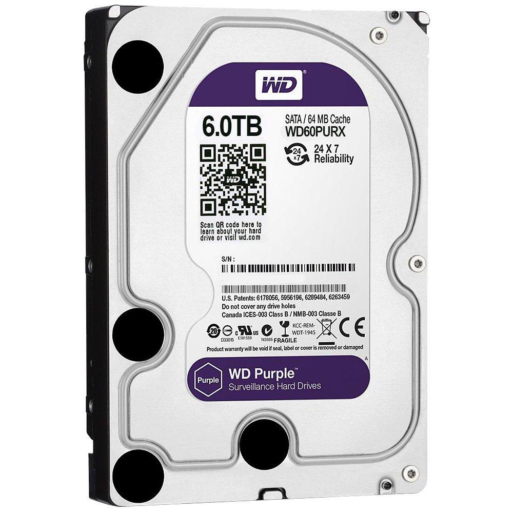 HDD 6 TB AV-GP Western Digital WD60PURX / WD60PURZ