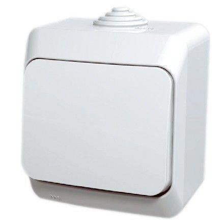 Intrerupator simplu aparent Cedar Plus Schneider WDE000510