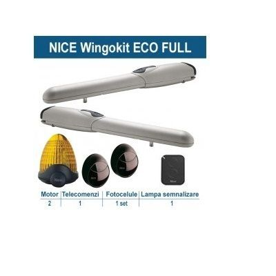 Kit Automatizare Porti Batante Nice Wingo Kit Eco Full Wingokce/a60