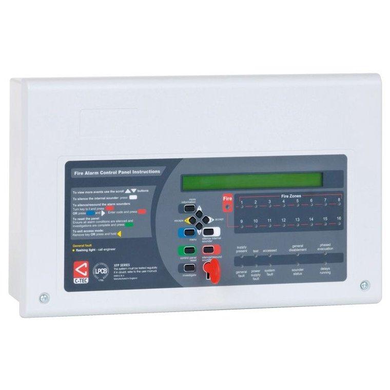 Centrala adresabila 1 bucla C-TEC XFP 501EH 16 zone 126 adrese pe bucla