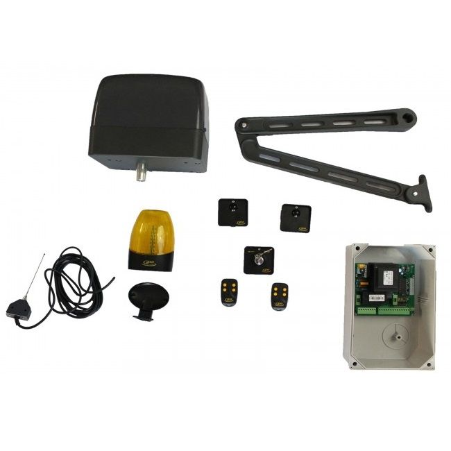 Kit Automatizare Pentru Porti Batante Brat Articulat Rhode (1 Canat). Max 200kg. 2.5m/canat Gpa Xn 1/221