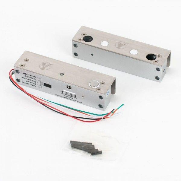 Mini bolt electric cu suport pentru usa de sticla YB-500U(LED)