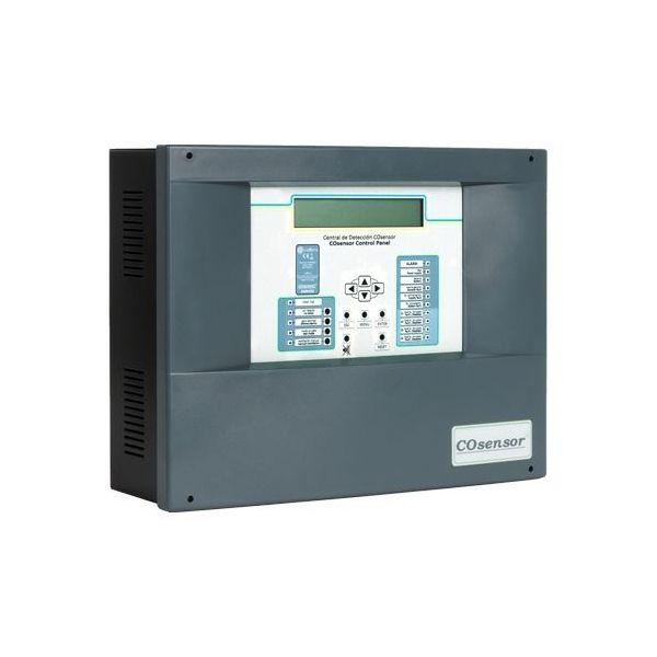Centrala adresabila Cofem ZCO325 detectie CO si NO2 3 zone maxim 25 detectori / zona