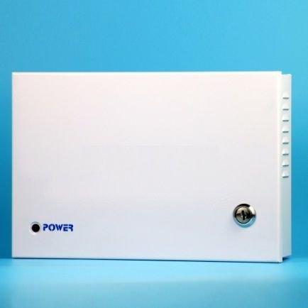 Sursa de alimentare in comutatie cu cutie metalica cu LED/fiecare canal 9 iesiri 10A ZTS1210-09F