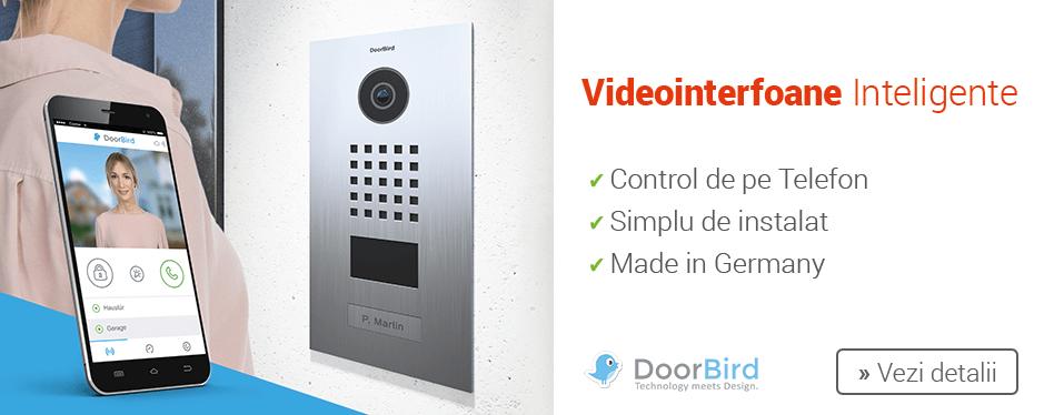 Videointerfoanele inteligente DoorBird